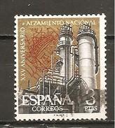 España/Spain-(usado) - Edifil  1360 - Yvert  1033 (o) - 1961-70 Afgestempeld