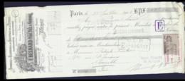 0-22127   1903 APPAREILS D ECLAIRAGE ET DE CHAUFFAGE POUR LE PETROLE F BESNARD PERE FILS ET GENDRE A PARIS - M. PATURLE - Lettres De Change