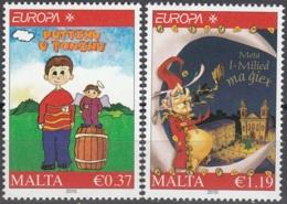 Malta 2010 Michel 1642 - 1643 Neuf ** Cote (2015) 4.70 Euro Europa CEPT Les Livres Pour Enfants - Malte