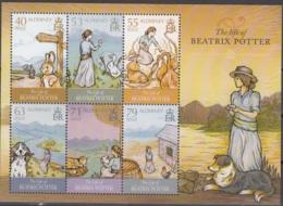 Alderney 2013 Bloc Feuillet La Vie De Beatrix Potter Neuf ** - Alderney