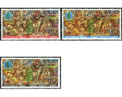 Ref. 210055 * MNH * - PHILIPPINES. 1968. TOBACCO INDUSTRY . INDUSTRIA DEL TABACO - Unclassified