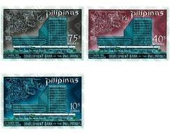 Ref. 59631 * MNH * - PHILIPPINES. 1969. NATIONAL DEVELOPMENT BANK . BANCO NACIONAL DE DESARROLLO - Eisenbahnen