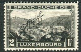 LUXEMBOURG ( SERVICE ) :  Y&T  N°  187  TIMBRE  NEUF  AVEC  TRACE  DE  CHARNIERE . - Dienst
