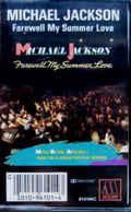 Michael Jackson- Farewell My Summer Love - Audiokassetten