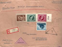 LETTRE EN RECOMMANDÉ DE CELLE - AVEC VALEUR DÉCLARÉE - EINSCHREIBEN - - Deutschland