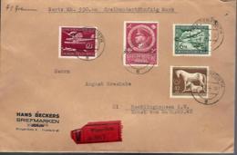 LETTRE EN RECOMMANDÉ DE WIPPERFÜRTH - AVEC VALEUR DÉCLARÉE - EINSCHREIBEN - - Lettres & Documents