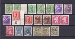 Berlin Und Brandenburg - 1945 - Sammlung - Sowjetische Zone (SBZ)