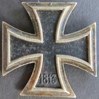 Orden Drittes Reich Eisernes Kreuz 1939  Geschwärzt Ohne Oese Gute Erhaltung  - Ohne Zuordnung