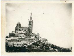 MARSEILLE Notre Dame De La Garde Eglise Cathedrale Religion - Lieux