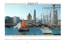 CPMJ1574 BREST  RASSEMBLEMENT DE VIEUX GREEMENTS LA TOUR TANGUY ET LE GRAND PONT - Brest