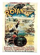 Royan -Bains De Mer -Chemins De Fer De L'Etat (D.1909) - Royan