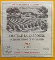 11094 -  Château La Cardonne 1983 Médoc - Bordeaux