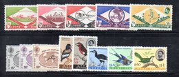 BIG - ETIOPIA  , Annata 1962 Completa 25 Valori ( Yvert  N 380/404)    *  Linguella (2380A) - Etiopia