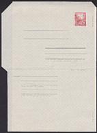 DDR Faltblatt 20 Pf Stalinallee Berlin MiNr. F1b Ungebraucht, Dickes Papier - [6] Repubblica Democratica