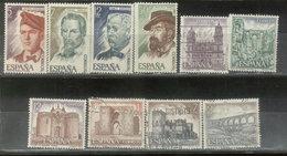 ESPAÑA -  YVERT 2037/40  -  2063/68 (#2062) - 1931-Aujourd'hui: II. République - ....Juan Carlos I