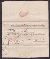 Lemberg 1834 Lwow Nach Neusandec Von Der Kk Cammerprocuratur Falt-Brief - Polonia