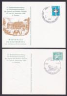 Carl Maria Von Weber, Weberhaus Hosterwitz 2 Schmuckkarten 1986, Gedenkstätte Komponist Melli Beese - Musik