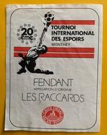 11100 -  20e Tournoi International Des Espoirs Monthey Fendant Les Raccards Suisse - Soccer