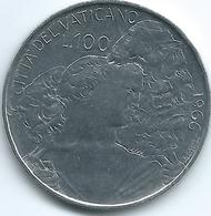 Vatican City - Paul VI - 1966 - 100 Lire - KM90 - Vatican