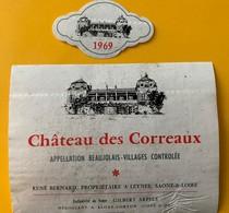 11104 - Château Des Correaux 1969 Beaujolais-Villages René Bernard - Beaujolais