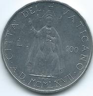 Vatican City - Paul VI - 1967 - 100 Lire - KM98 - Vatican