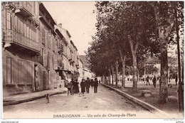 DRAGUIGNAN UN COIN DU CHAMP DE MARS TBE - Draguignan