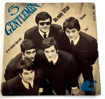 EP - 5 GENTLEMEN - Dis Nous Dylan - 1966 - France - Rock