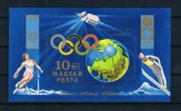 Ungarn 1972 Olympia Block 89 A ** - Ungebraucht