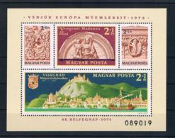 Ungarn 1975 Block 115 A ** - Ungebraucht