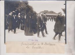 FUNERAILLES M BERTEAUX LA FAMILLE  18*13CM Maurice-Louis BRANGER PARÍS (1874-1950) - Personalidades Famosas