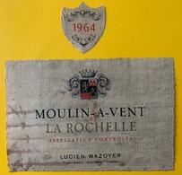 11106 - Moulin-A-Vent La Rochelle 1964 Lucien Mazoyer - Beaujolais