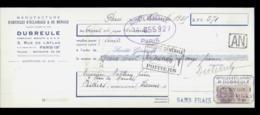 0-3211-LCD-14010   éclairage Dubreule Rue De L'atlas Paris 19  1935 - Poitiers - Lettres De Change
