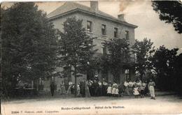 1 Postkaart Kalmphout Heide Calmphout  Hôtel De La Station  C1910 Drukker Hoelen N°2064 - Kalmthout