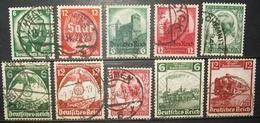 N°401A TIMBRES DEUTSCHES REICH OBLITERES - Deutschland