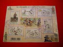 BLOC FEUILLET N°4555 / LE VELOCIPEDE DES ORIGINES A NOS JOURS / ANNEE 2011 / OBLITERE - Oblitérés