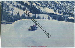 Preda-Bergün - Bob - Wintersport - Verlag Wehrli AG Zürich - GR Grisons