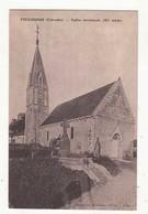 CPA France 14 - Foulognes - Eglise Paroissiale  :   Achat Immédiat - France