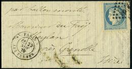 Lettre LE JULES FAVRE N° 2, L.M.M. Avec Càd Paris Les Ternes 29 Nov 70 Pour Meylan Près Grenoble - Arrivée à Grenoble Le - Stamps