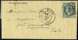 Lettre LE GENERAL RENAULT, Gazette Des Absents N° 14, Càd Paris Les Ternes 7 Déc 70 Pour Meylan Près Grenoble, TB - Stamps