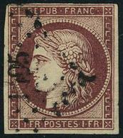 Oblitéré N° 6b, 1f Carmin Foncé TB Signé Calves - Stamps