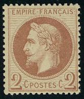 Neuf Avec Charnière N° 25 + 26, 1 Et 2c Très Bon Centrage, Cl, T.B. - Stamps