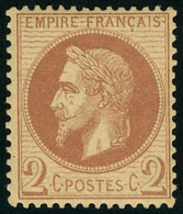 Neuf Sans Charnière N° 26A, 2c Rouge-brun, TB - Stamps