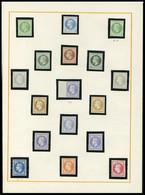 Neuf Sans Gomme N° 27, 4c Et 30c Napoléon, 17 Essais Différents Dont 3 Impression Recto Verso T.B. Photo Web - Stamps