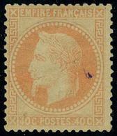 Neuf Avec Charnière N° 31, 40c Orange T.B. Signé Brun - Stamps