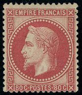Neuf Avec Charnière N° 32a, 80c Rose Carminé Cl, T.B. Signé Brun - Stamps