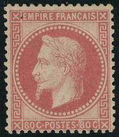 Neuf Avec Charnière N° 32d, 80c Rose Vif T.B. Signé Brun Miro - Stamps