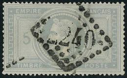 Oblitéré N° 33, 5f Empire, Léger Clair Aspect T.B. - Stamps