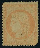 Neuf Avec Charnière N° 38b, 40c Orange, Défectueux : 2 Coins Arrondis - Stamps