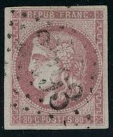 Oblitéré N° 39/48, Sauf 44/46, Les 8 Valeurs Bordeaux 1, 2, 4, 5, 10, 30, 40 Et 80c, Pd, Tous Bon Aspect. - Stamps