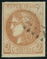 Oblitéré N° 40B, 2c Brun Rouge Report 2 T.B. - Stamps